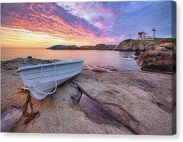 Ropes Canvas Print - Atlantic Dawn by Eric Gendron