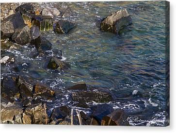 Atlantic Ocean Maine Canvas Print