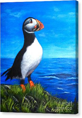 Atlantic Puffin 2 Canvas Print