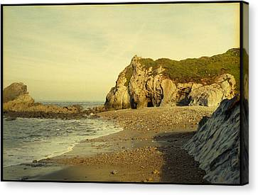 Atlantic Seascape Asturias Spain Canvas Print by Juan  Bosco