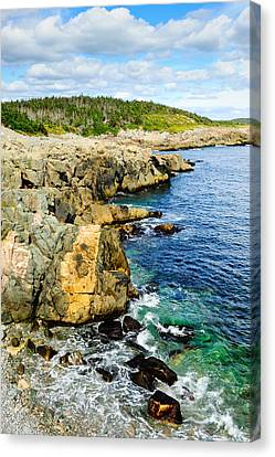 Atlantic Shoreline Canvas Print