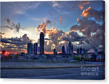 Atlantic Station Midtown Atlanta Canvas Print