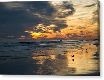 Atlantic Sunset Canvas Print