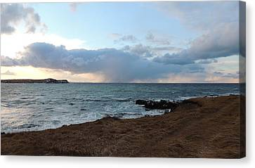 Atlantic Winter Afternoon  Canvas Print