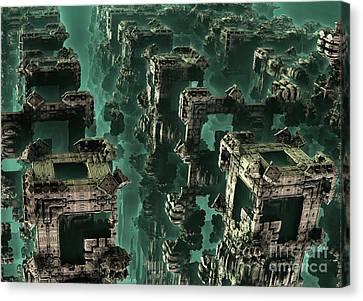 Atlantis Canvas Print - Atlantis by Bernard MICHEL