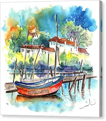 Atlantis In Comporta In Portugal Canvas Print by Miki De Goodaboom