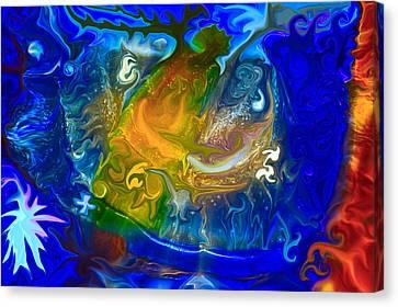 Atlantis Canvas Print by Omaste Witkowski