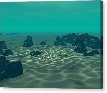 Atlantis Canvas Print - Atlantis by Phil Perkins