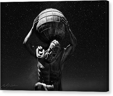 Atlas Canvas Print