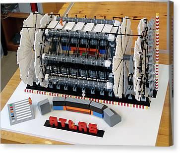 Atlas Detector At Cern Canvas Print