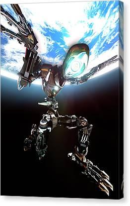 Atlas Robot Canvas Print by Animate4.com/science Photo Libary