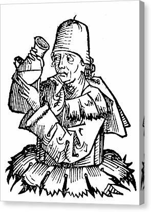 Atonius De Monte Ulmi Canvas Print by Universal History Archive/uig