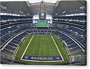 Att Or Cowboy Stadium Canvas Print