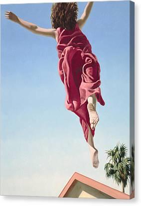 Attempts At Flight #8 Canvas Print
