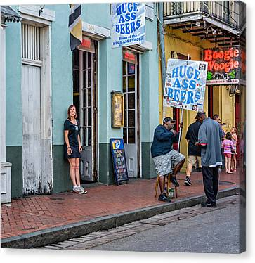 Attitude And Huge Ass Beers Canvas Print