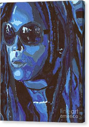 Attitude Canvas Print by Candice Waits