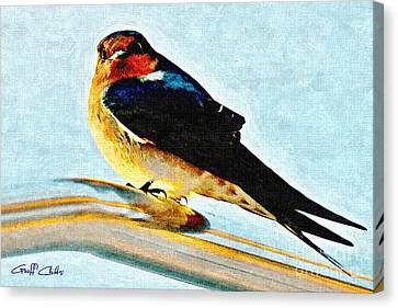 Attitude In Nature Canvas Print by Geoff Childs