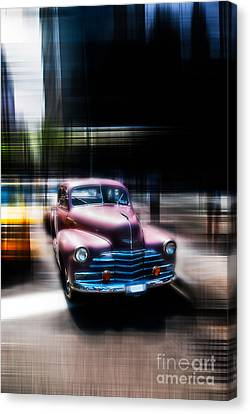 attracting curves III2 Canvas Print by Hannes Cmarits