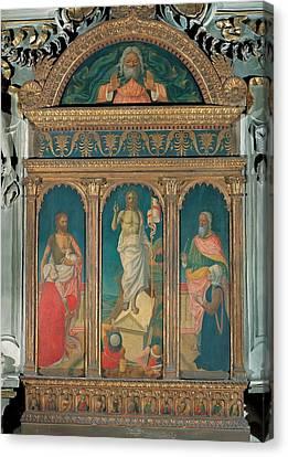 Attributed Ambrogio Da Fossano Known Canvas Print by Everett