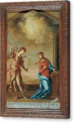 Attributed Guardi Francesco, Trinity Canvas Print by Everett