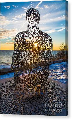 Atwater Spillover Sunrise Canvas Print by Andrew Slater