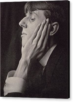 Chin On Hand Canvas Print - Aubrey Beardsley by Frederick Evans