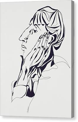 Aubrey Beardsley Canvas Print