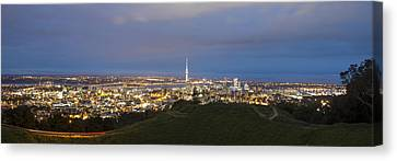 Auckland Nights Canvas Print by David Yack