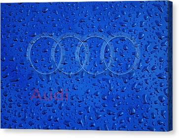 Audi Rainy Window Visual Art Canvas Print by Movie Poster Prints