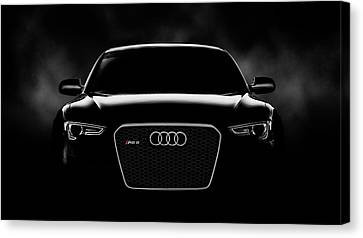 Audi Rs5 Canvas Print by Douglas Pittman