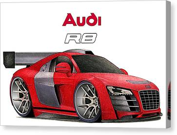 Audi Toon Canvas Print by Lyle Brown