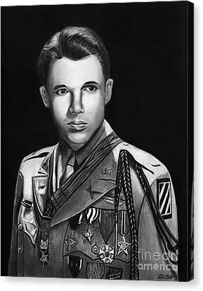 Audie Murphy Canvas Print by Peter Piatt