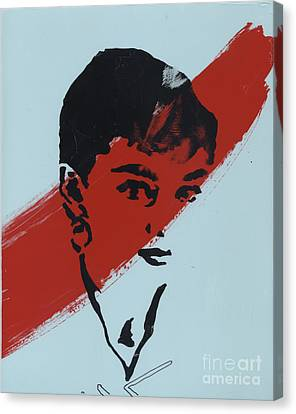 Audrey 5 Canvas Print by Jason Tricktop Matthews