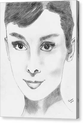 Audrey Canvas Print by Dan Twyman