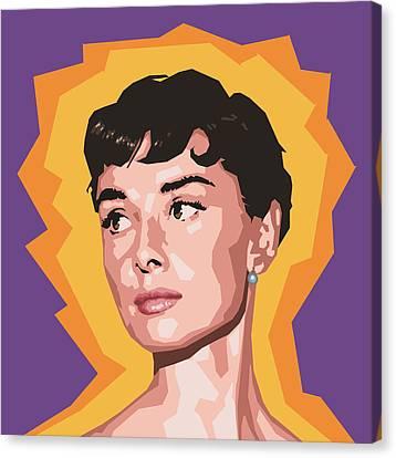 Audrey Canvas Print by Douglas Simonson