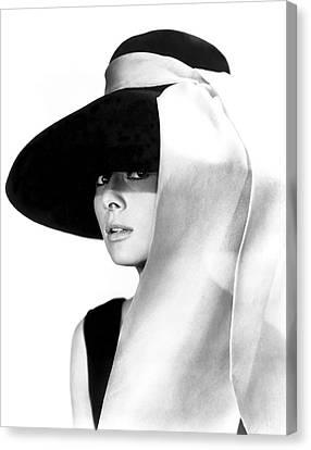 Audrey Hepburn Canvas Print by Daniel Hagerman