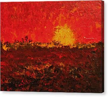 August Fields Canvas Print