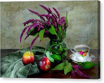 August Still Canvas Print by Diana Angstadt