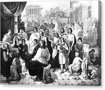 Augustus (63 B Canvas Print