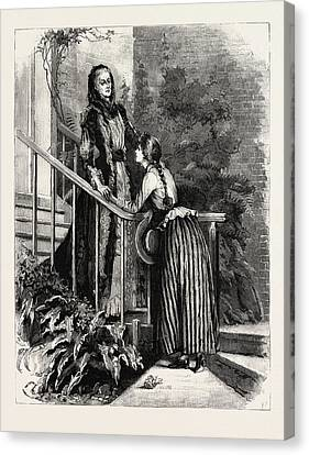Aunt Charlotte And Mildred Canvas Print