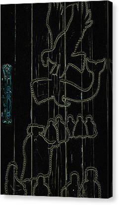 Aura's Abound Canvas Print