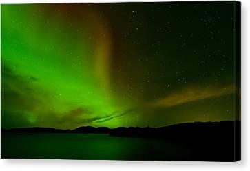 Aurora Borealis Canvas Print by Andy Astbury