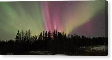 Aurora Burst Canvas Print