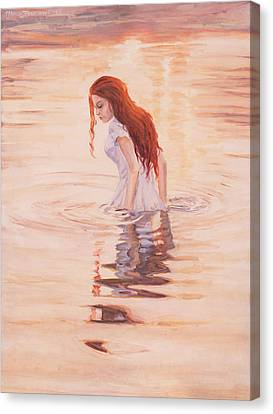 Aurora Canvas Print by Marco Busoni