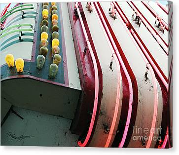 Aurora Theater Marquee - Detail Canvas Print