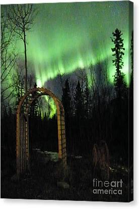 Auroral Arch Canvas Print by Brian Boyle