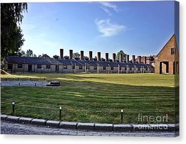 Auschwitz-3 Canvas Print