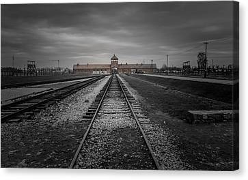 Auschwitz-birkenau Canvas Print by Chris Fletcher
