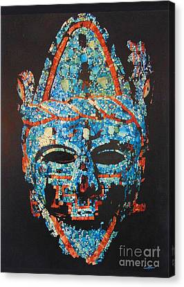 Austec Indian Mack Canvas Print by Emil Bodourov