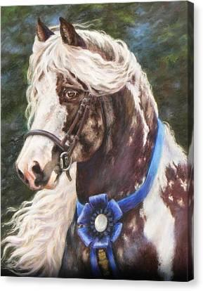 Austin Gypsy Stallion Canvas Print